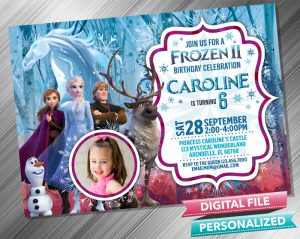 Frozen 2 Anna Elsa Kristoff with picture