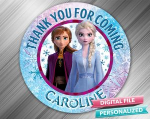 Frozen 2 Favor Tag
