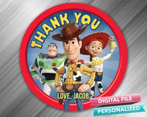 Toy Story 4 Favor Tag