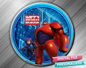 Big Hero 6 Birthday Sign