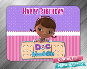 Doc McStuffins Birthday Sign