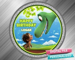 The Good Dinosaur Birthday Sign