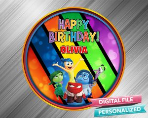 Inside Out Birthday Sign