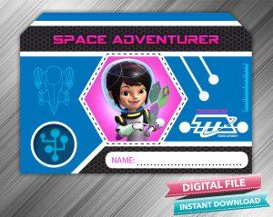 Loretta Space Adventurer Badge