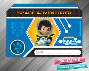 Miles From Tomorrowland Space Adventurer Badge