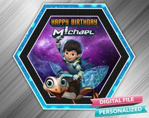Miles From Tomorrowland Birthday Sign