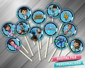 Miles From Tomorrowland Cupcake Toppers