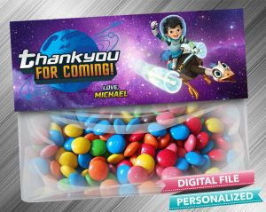 Miles From Tomorrowland Treat Bag Toppers