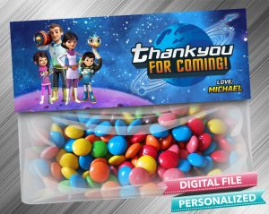 Miles From Tomorrowland Favor Bag Toppers
