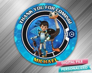 Miles From Tomorrowland Favor Tag