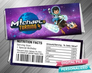 Miles From Tomorrowland Hershey Candy Bar Wrapper