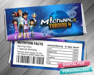 Miles From Tomorrowland Hershey Wrapper