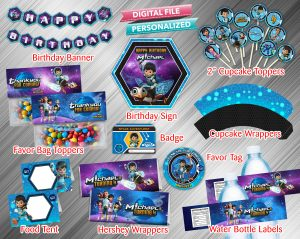 Miles From Tomorrowland Printable Birthday Package