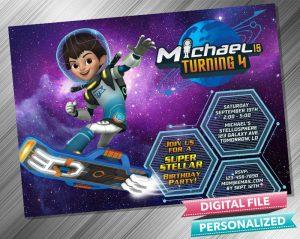 Miles From Tomorrowland Invitation