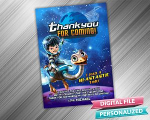 Miles Callisto Thank you Card