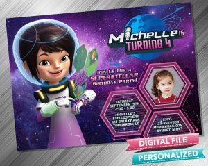 Loretta Callisto Invitation with picture