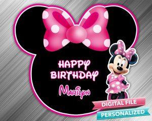 Minnie Birthday Sign