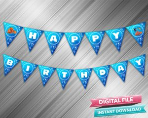 Finding Nemo Birthday Banner