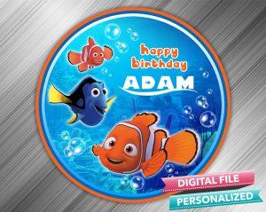 Finding Nemo Birthday Sign