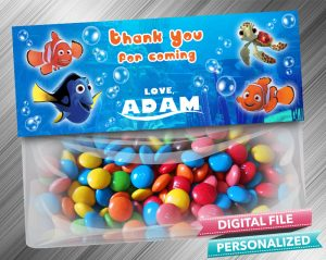 Finding Nemo Treat Bag Toppers