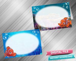 Finding Nemo Food Tent