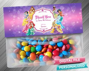 Disney Princess Palace Pets Treat Bag Toppers