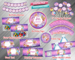 Palace Pets Printable Birthday Package