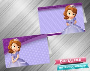 Sofia the First Food Tent