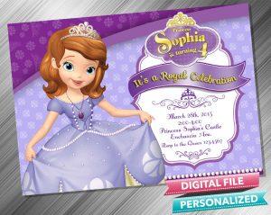 Sofia the First Invitation