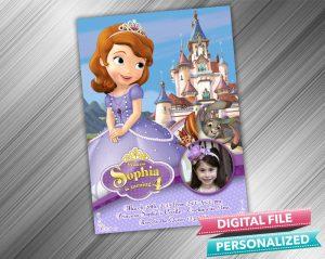 Sofia Invitation with picture
