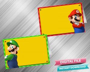 Super Mario Food Tent