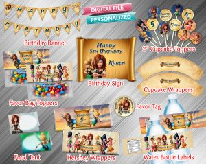 Tinkerbell and the Pirate Fairy Printable Birthday Package