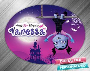 Vampirina Birthday Sign