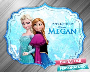 Frozen Birthday Sign