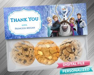 Frozen Treat Bag Toppers