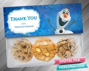 Frozen Olaf Treat Bag Toppers